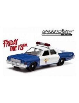 Friday the 13th Diecast Model 1/18 1978 Dodge Monaco Police