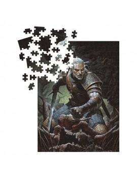 The Witcher 3 Wild Hunt Puzzle Geralt - Trophy