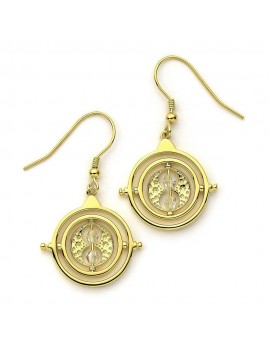 Harry Potter x Swarovski Drop Earrings Time Turner (gold plated)