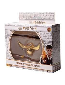 Harry Potter Keychains 3-Pack Premium