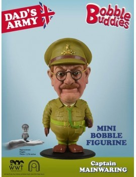 Dad's Army Bobble-Head Captain Mainwaring 7 cm