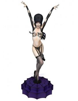Elvira Mistress of the Dark Maquette Elvira Vegas or Bust 42 cm