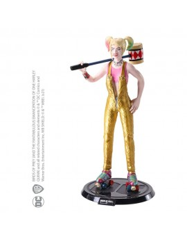 DC Comics Bendyfigs Bendable Figure Harley Quinn BOP with Mallet 19 cm