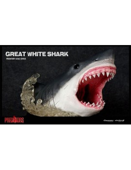 Predators Predatory Scale Statue Great White Shark 46 cm