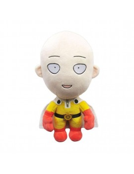 One-Punch Man Plush Figure Saitama Happy Version 28 cm