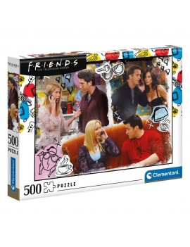 Friends Jigsaw Puzzle On The Phone (500 pieces)