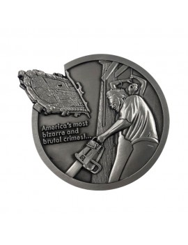 Texas Chainsaw Massacre Medallion Logo Limited Edition