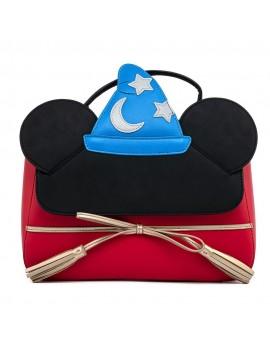 Disney by Loungefly Crossbody Fantasia Sorceror Mickey Cosplay
