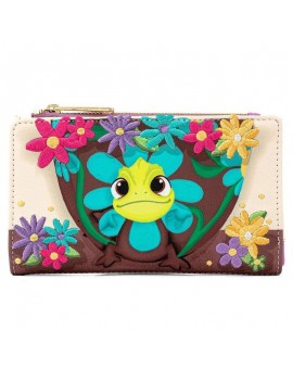 Disney by Loungefly Wallet Tangled Pascal Flower