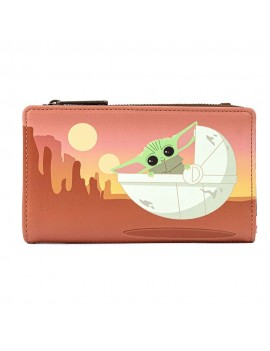 Star Wars The Mandalorian by Loungefly Wallet Child Wait For Me