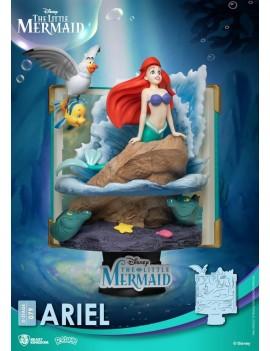 Disney Story Book Series D-Stage PVC Diorama Ariel New Version 15 cm