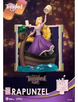 Disney Story Book Series D-Stage PVC Diorama Rapunzel 15 cm