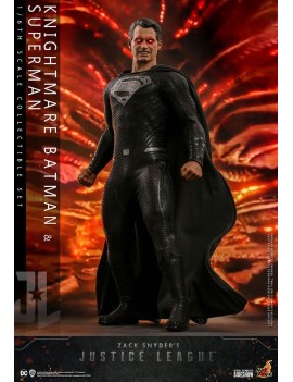 Zack Snyder's Justice League Action Figure 2-Pack 1/6 Knightmare Batman and Superman 31 cm