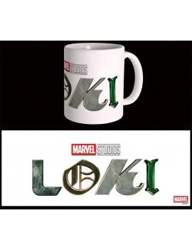 Marvel Mug Loki Logo
