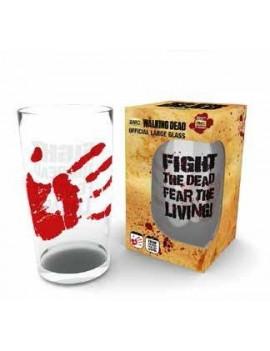 Walking Dead Pint Glass Fight The Dead