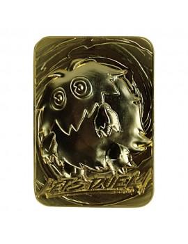 Yu-Gi-Oh! Replica Card Kuriboh (gold plated)