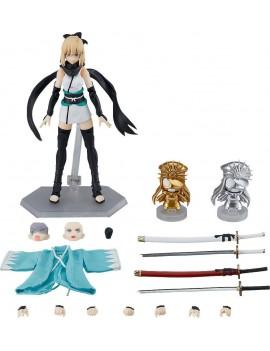 Fate/Grand Order Figma Action Figure Saber/Okita Souji Ascension Version 14 cm