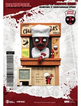 Marvel Mini Egg Attack Figure Deadpool's Chimichangas Store 10 cm