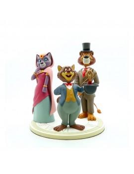 Around the World with Willy Fog Statue Willy Fog, Rigodon, Princess Romy & Tico 20 cm