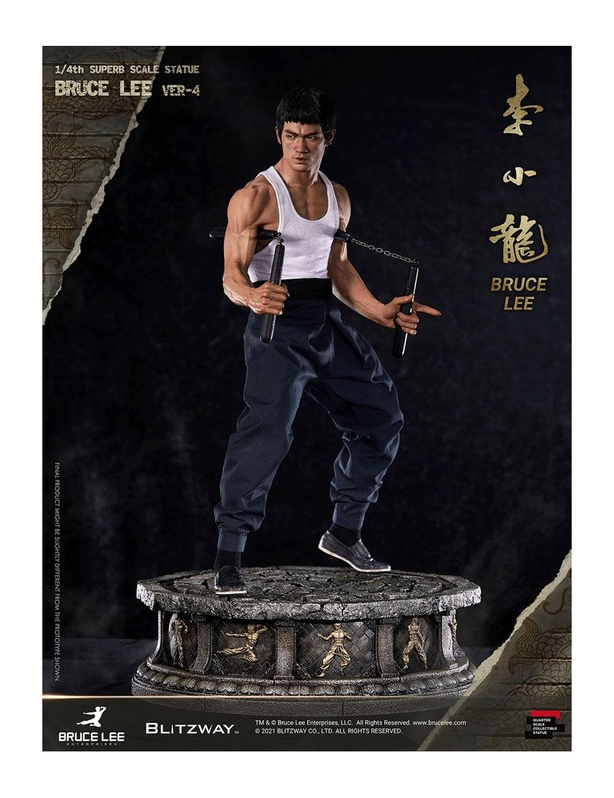Bruce Lee Hybrid Type Superb Statue 1/4 Bruce Lee Tribute Ver. 4 57 cm