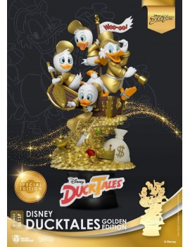 Disney Classic Animation Series D-Stage Diorama DuckTales Golden Edition heo EMEA Exclusive 15 cm