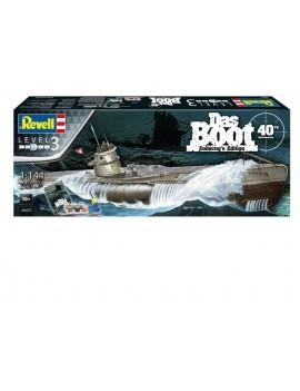 Das Boot Model Kit Gift Set 1/144 U-Boot U96 Typ VII C 40th Anniversary 46 cm