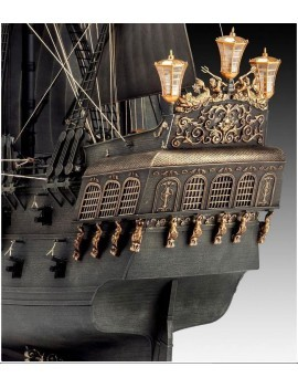 Pirates of the Caribbean Dead Men Tell No Tales Model Kit 1/72 Black Pearl Limited Edition 50 cm