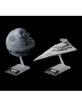 Star Wars Model Kit Death Star II & Imperial Star Destroyer