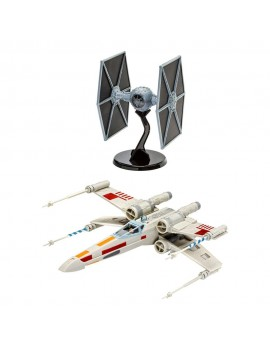 Star Wars Model Kit Gift Set 1/57 X-Wing Fighter & 1/65 TIE Fighter