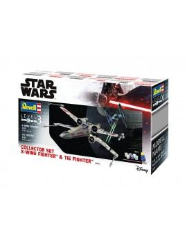 Star Wars Model Kit Gift Set 1/57 X-Wing Fighter & 1/65 TIE Fighter