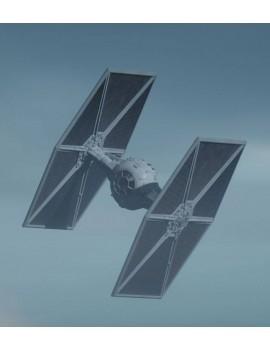 Star Wars The Mandalorian Model Kit 1/65 Outland TIE Fighter 16 cm