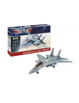 Top Gun Model Kit 1/48 Maverick´s F-14A Tomcat 40 cm