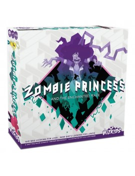 Zombie Princess and the Enchanted Maze Board Game *English Version*