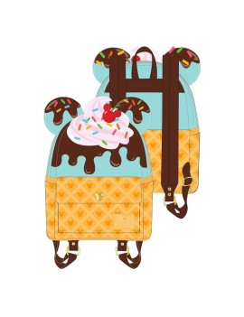 Disney by Loungefly Backpack Mickey and Minnie Sweets Ice Cream