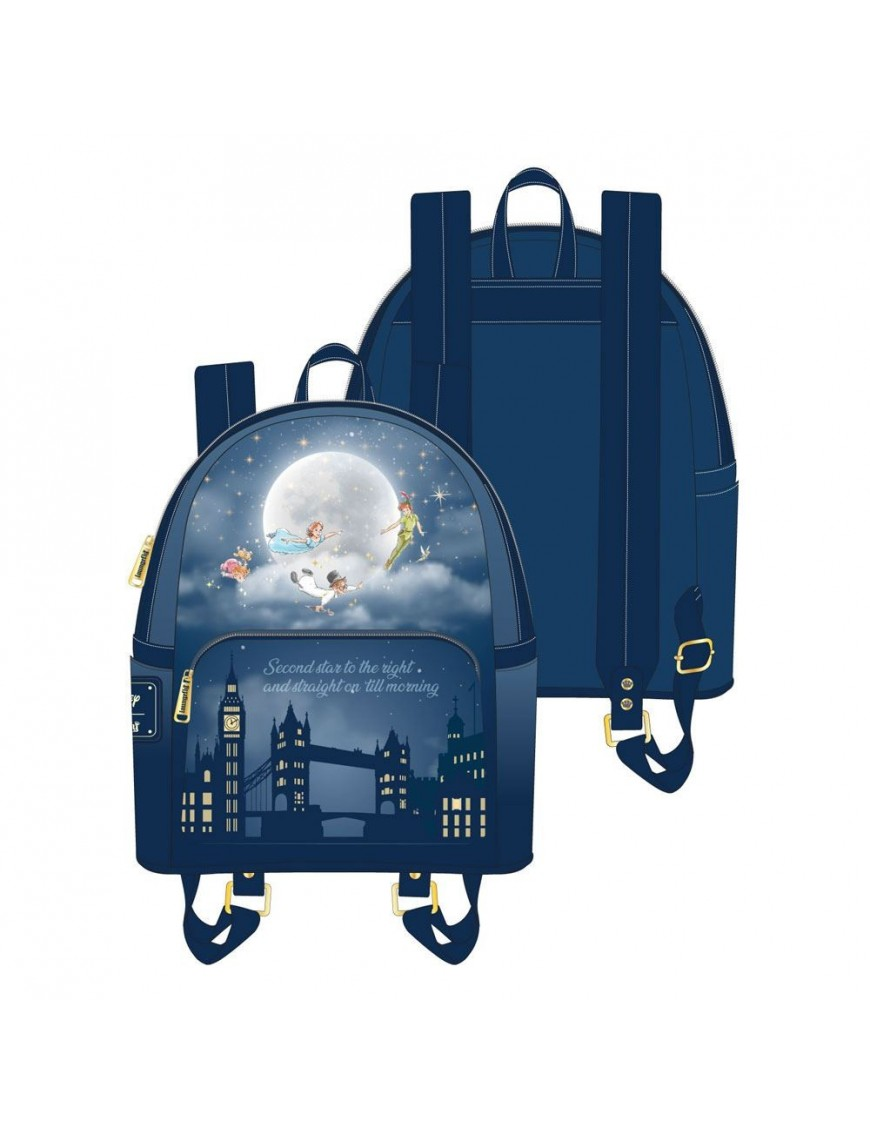 Disney by Loungefly Backpack Peter Pan Second Star Glow