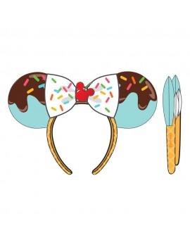 Disney by Loungefly Headband Minnie Mouse Sweet Treats