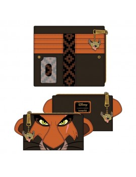 Disney by Loungefly Wallet The Lion King Scar Cosplay