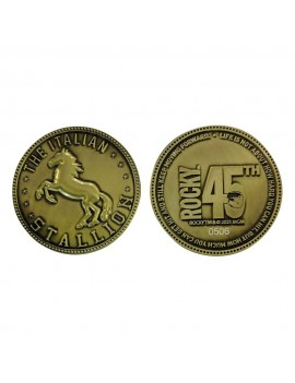 Rocky Collectable Coin 45th Anniversary The Italian Stallion Limited Edition
