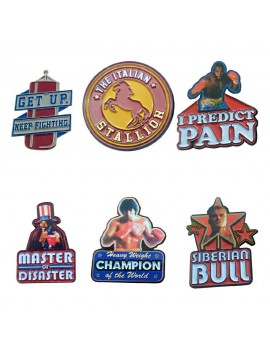 Rocky Pin Badge 6-Pack 45th Anniversary Limited Edition