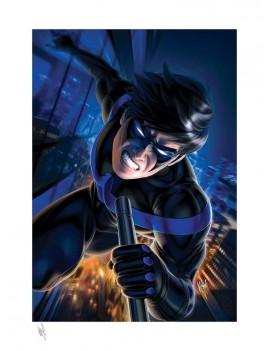 DC Comics Art Print Nightwing 46 x 61 cm - unframed