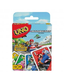 Mario Kart Card Game UNO
