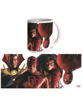 Marvel Mug Marvel Knights by Alex Ross