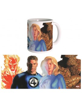 Marvel Mug The Fantastic Four by Alex Ross