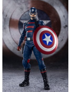The Falcon and the Winter Soldier S.H. Figuarts Action Figure Captain America (John F. Walker) 15 cm