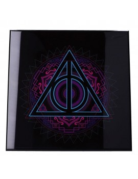 Harry Potter Crystal Clear Picture Deathly Hallows 32 x 32 cm