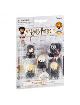 Harry Potter Stamps 5-Pack Wizarding World Set B 4 cm