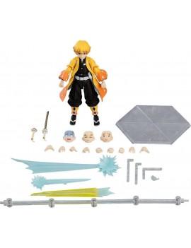 Demon Slayer: Kimetsu no Yaiba Figma Action Figure Zenitsu Agatsuma DX Edition 13 cm