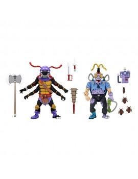 Teenage Mutant Ninja Turtles Action Figure 2-Pack Antrax & Scumbug 18 cm