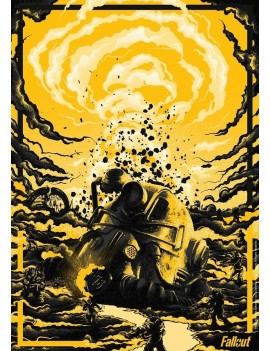 Fallout Art Print Limited Edition 42 x 30 cm
