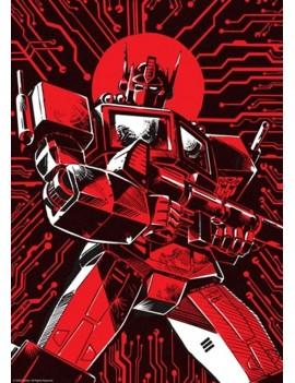 Transformers Art Print Optimus Prime Limited Edition 42 x 30 cm